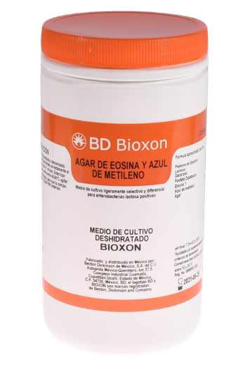 210600 BD Bioxon® Agar Eosina y Azul de Metileno, 450 g