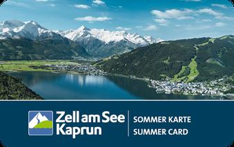 Zell am See Kaprun-Sommerkarte