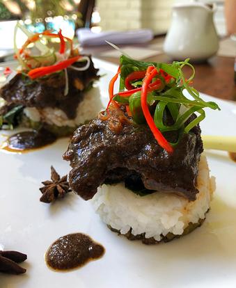 Rendang – Indonesian slow-cooked beef.