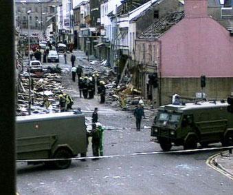 anslag i Belfast