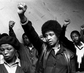 Winnie Mandela (1936 - 2018)
