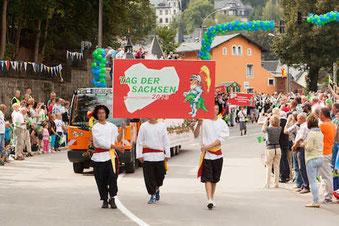 Festumzug - http://www.tagdersachsen2013.de
