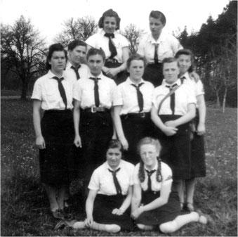 BDM Mädchen 1940Stuttgart