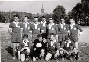 Fußballmannschaft Flehingen – ca. 1962