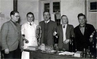 Basar für die Sickinger Orgel im Grünen Hof 1953