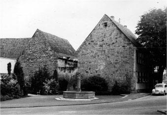Kastenbrunnen in Derdingen ca. 1966
