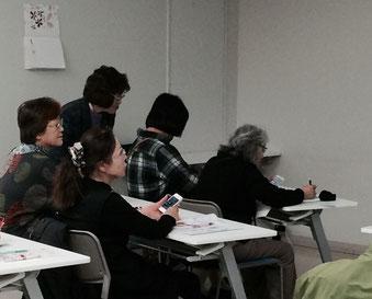 ☆13:00~15:00のクラス。前列お二人はお義母さんとお嫁さん。