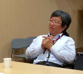 ☆質問に適格に答える後藤さん。懇親会のご出席は12名。