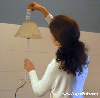 ahorrar electricidad - iluminación - www.AorganiZarte.com
