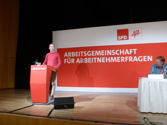 Bundeskonferenz der AfA in Nürnberg