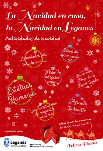 Fiestas en Leganes Programa de Navidad