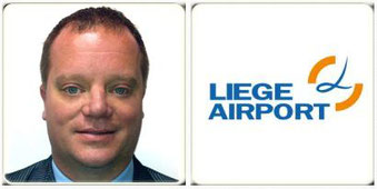 Steven Verhasselt is Vice President Commercial at the Belgian Airport  - courtesy LGG