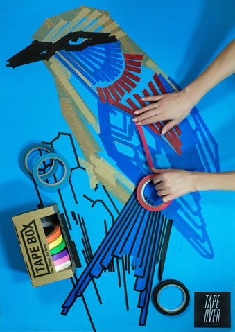 TAPE BOX - Der Malkasten aus Tape!