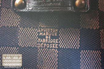 1888 Toile damier foncé bagage vuitton