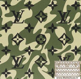 toile 2008 Monogramouflage - PVC louis vuitton trunk malle