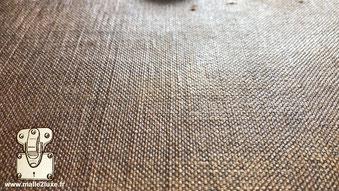 toile brute rustique Louis Vuitton malle a chapeau