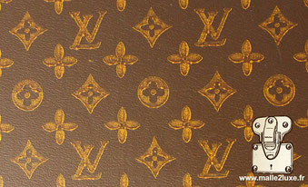 toile louis vuitton trunk malle pochoirs mark 6