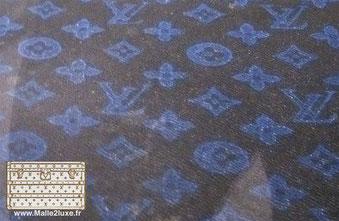 monogramme bleu Louis vuitton
