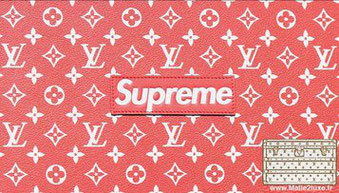 toile supreme louis vuitton red rouge monogramme canvas