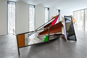 Sebastian Kuhn, Tumbling Down The Rabbit Hole, 2010, Kunsthalle Mannheim Foto: Andreas Pauly