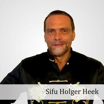 Meister Holger Heek (Sifu Hung Man Jung), Gründer der Jing Wu Kung Fu Schule Köln