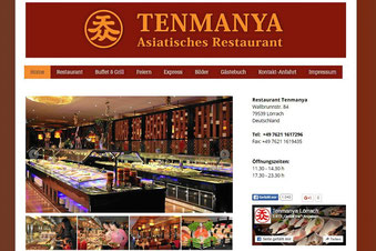 Asiatisches Restaurant Tenmanya in Lörrach