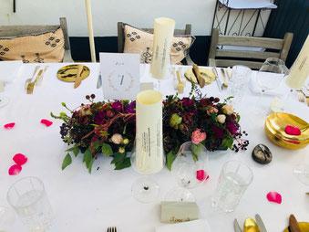 Hochzeitstafel im taubenkobel