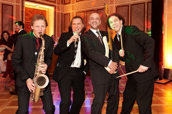 Holy Moly Jazzband Deluxe mit Saxophon