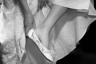 Ballerinas bei der Hochzeit