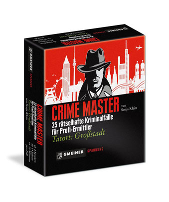Krimi-Spiel Rezension : Crime Master - Tatort: Großstadt