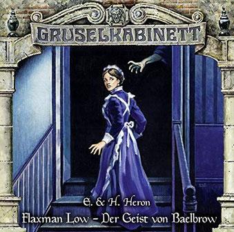 CD-Cover Gruselkabinett Folge 155 Flaxman Low – Der Geist von Baelbrow