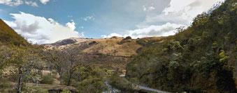 Paisaje en parte seco y desforestado. Foto: Amnistía Internacional