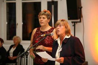 Bild: Foto: EP Brüssel, Lissy Gröner, Barbara Dührkop, 100 Jahre Sozialistische Frauen Internationale
