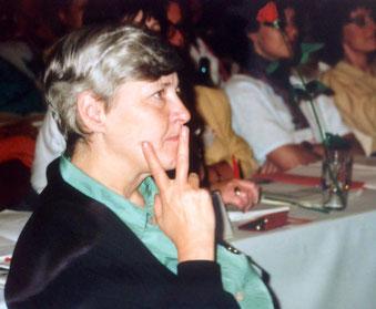 Bild: Foto: ASF Bundeskonferenz, Johanna Dohnal, Frauenministerin