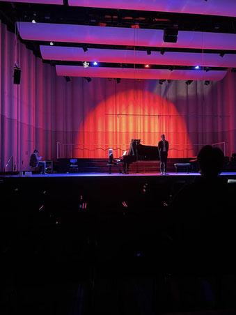 Foto von der Aufführung am 8. Dezember 2020 (Masterprojekt-Präsentation)