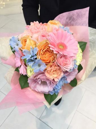 花ひろ 鯖江 福井 花屋 愛妻の日 プレゼント 花束