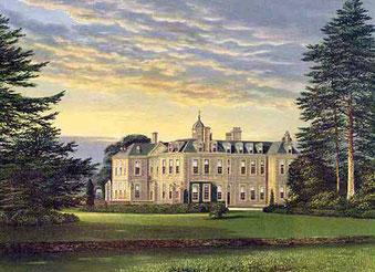 Hanbury Hall circa 1880