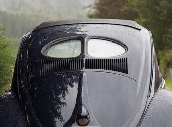 VW Käfer Oldtimer Heckansicht