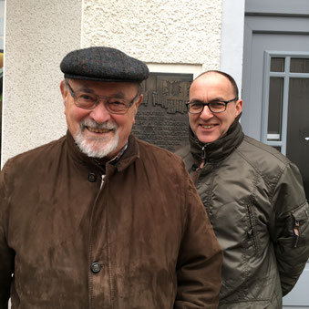 Hartmut Hosenfeld und Tom Kleine
