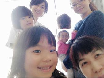 浦安音楽ホール、子育てママの息抜きワークショップの風景です