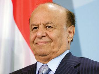 Vizepräsident Abd Rabbuh Mansur Hadi