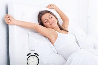 Gesund aufwachen ohne Elektrosmog am Schlafplatz