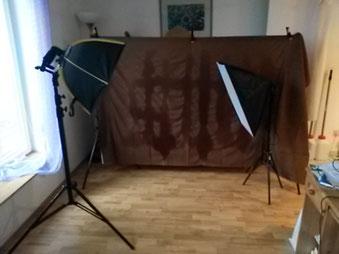 mein kleines Wohnzimmer Studio ;)