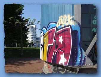 Alter Hafen-Kran im Medienhafen,Düsseldorf