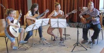 Gitarrenunterricht mit Martin Höhn, Isny