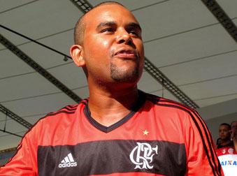 er schrie sich für Flamengo die Seele aus dem Leib