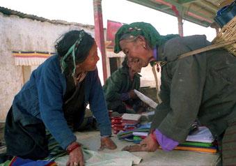 Handeln ist den Tibetern in die Wiege gelegt