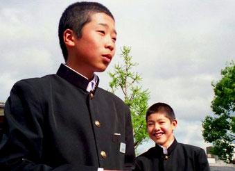 die japanischen Schüler - konzentriert und fröhlich