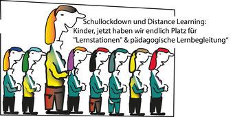 """Distance Learning bei """"offenen Schulen""""? Das geht gut, sagt Kurz, Faßmann und Kogler  Bild:spagra"""
