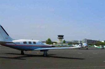 ▲調布から大島へは、約25分の空の旅。